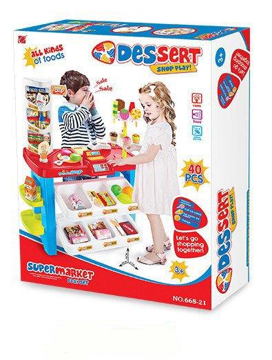 set jucarie copii supermarket dessert4
