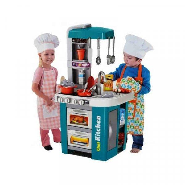 bucatarie de jucarie cu accesorii pentru copii happy kitchen 1
