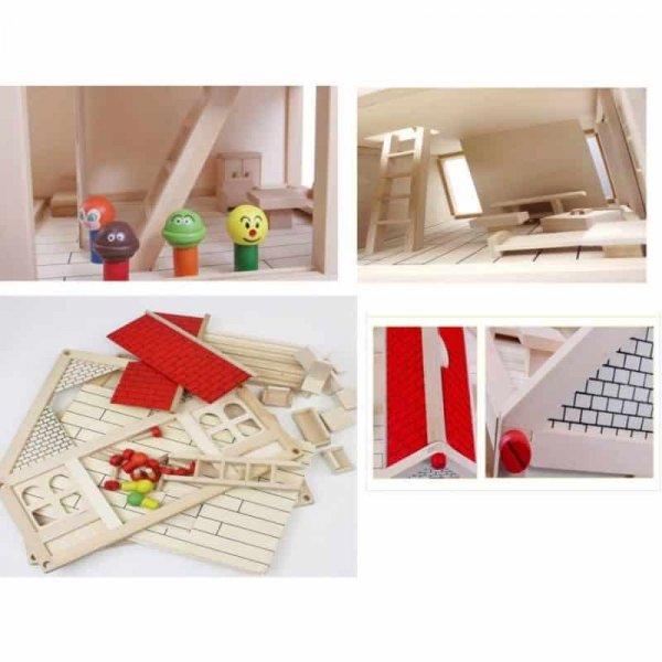 casa papusilor din lemn 1