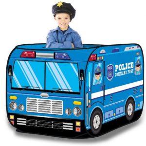 cort de joaca copii masina de politie