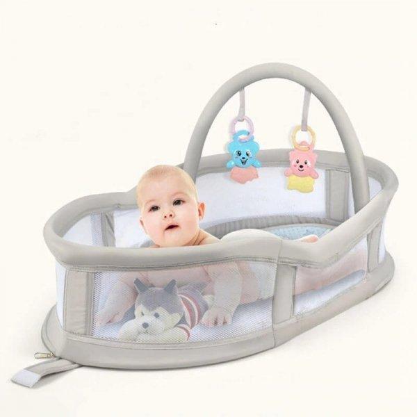 cosulet transport bebe cu jucarii incluse kidino 3