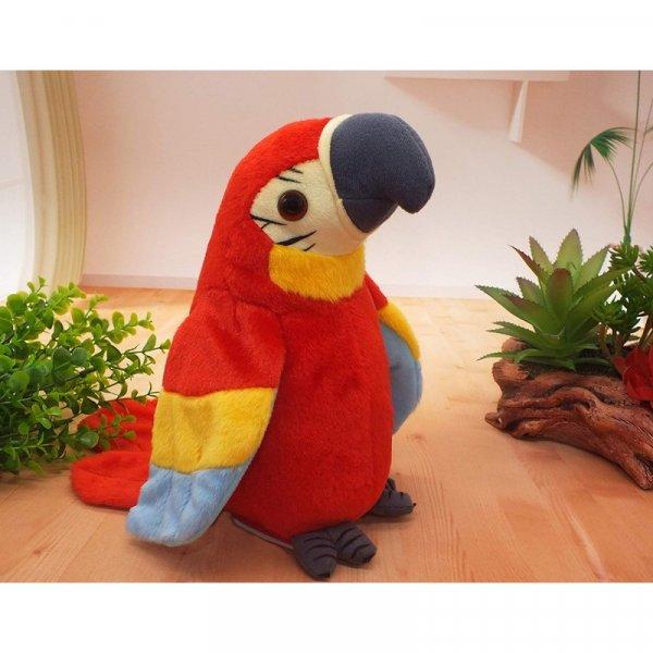jucarie interactiva papagalul vorbitor 29 cm 1