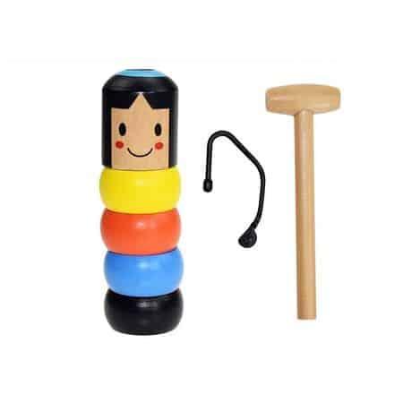 jucarie magica papusa din lemn 1