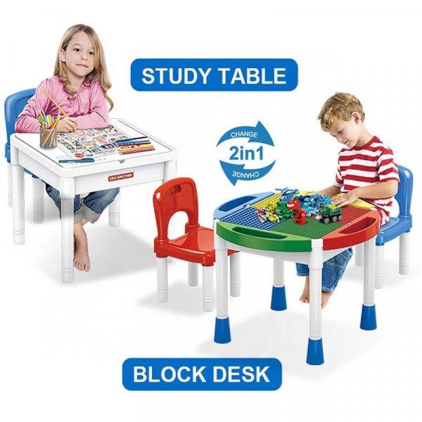 masuta 2 in 1 lego 2 scaunele incluse 1