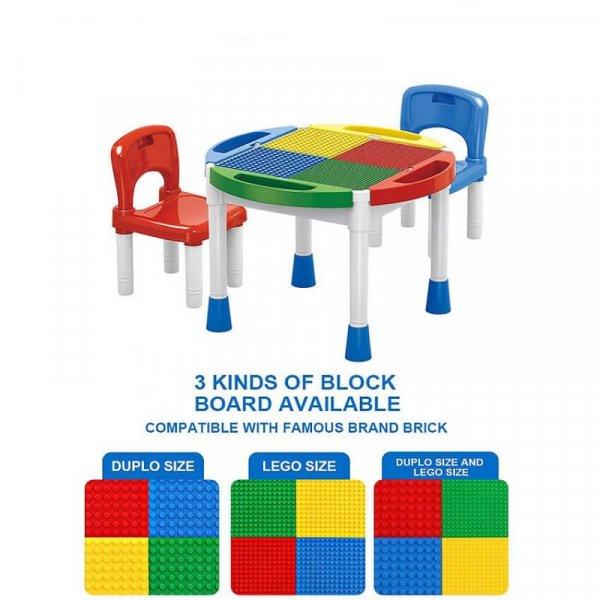 masuta 2 in 1 lego 2 scaunele incluse 3