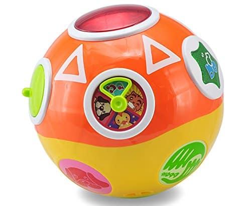 minge interactiva bebe spin ball abero1
