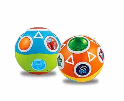 minge interactiva bebe spin ball abero6