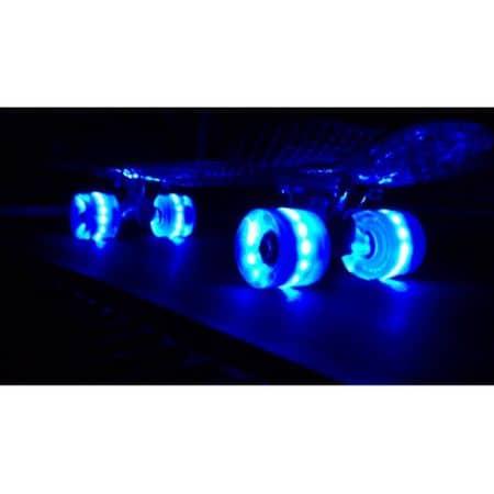 penny board roti de silicon cu lumini 3