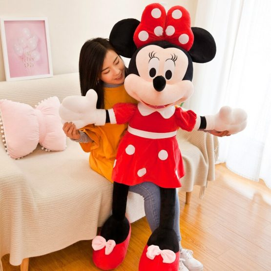 minnie mouse rosu