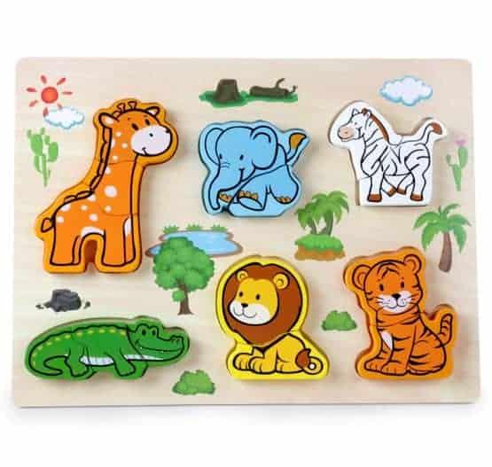 puzzle 3d savana