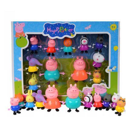 set 11 figurine peppapig