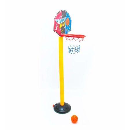 set cos de baschet copii cu minge si pompa 1