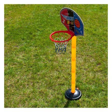 set cos de baschet copii cu minge si pompa 5