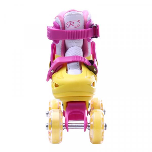 set role reglabile si echipament protectie roz 2