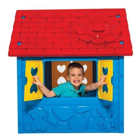 casuta de joaca pentru copii albastru 1