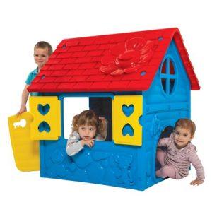casuta de joaca pentru copii albastru