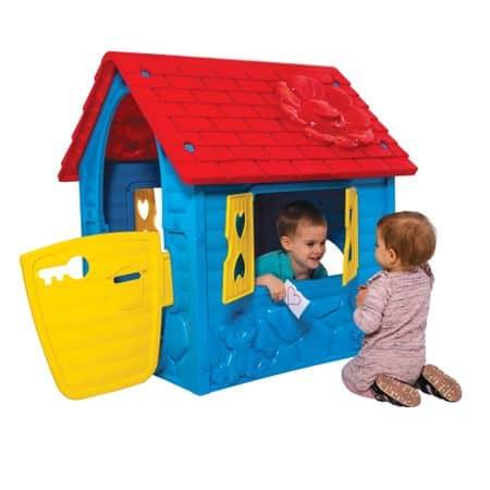 casuta de joaca pentru copii albastru 4