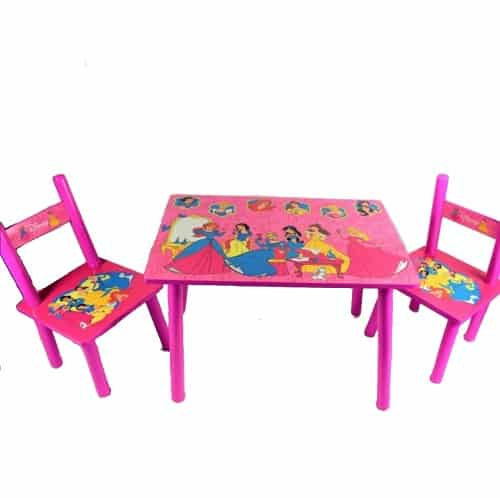 masuta copii cu doua scaunele