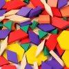 puzzle tangram din lemn 125 piese 2