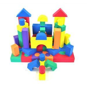 set 50 cuburi de constructie