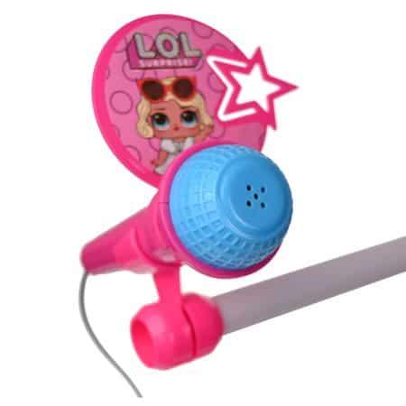 set doua microfoane de jucarie lol 2