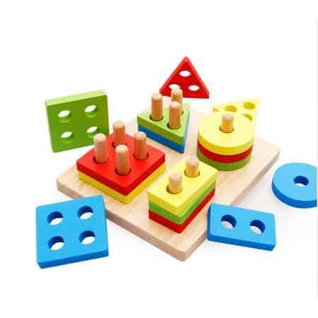 sortator forme geometrice 4 coloane 3