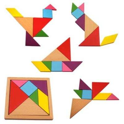 joc de indemanare tangram
