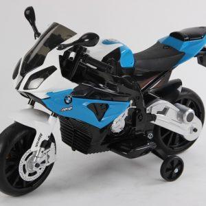 motocicleta electrica bmw albastru