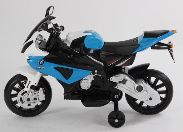 MOTOCICLETA COPII BMW ALBASTRU1