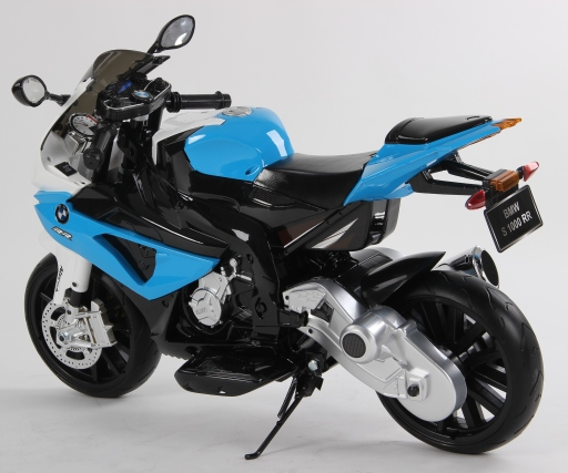 motocileta electrica bmw alvastru