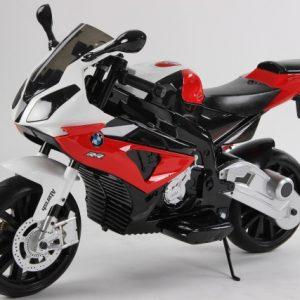 motocicleta electrica rosu