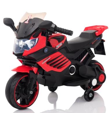 motocicleta electrica copii rosu