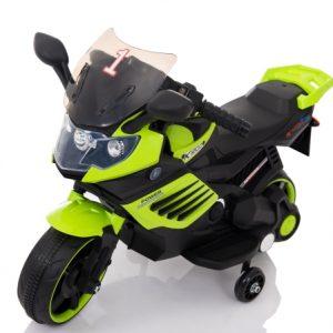 motocicleta electrica copii verde