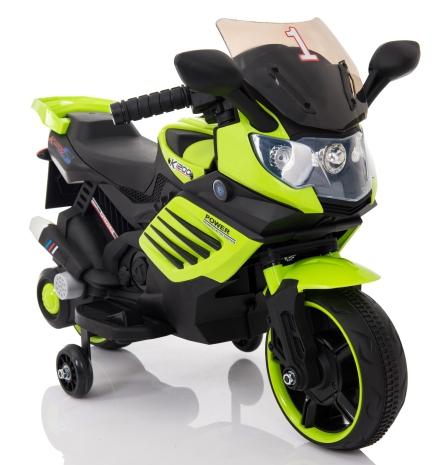 MOTOCICLETA COPII verde a