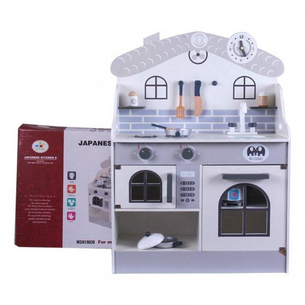 bucatarie de jucarie chiuveta cupor si ustensile incluse