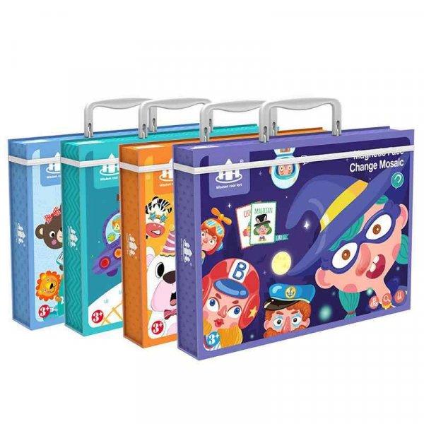 carte magnetica din lemn pentru copii 4