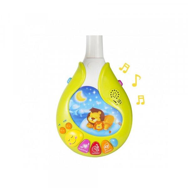 carusel muzical cu lampa de veghe hola toys 2