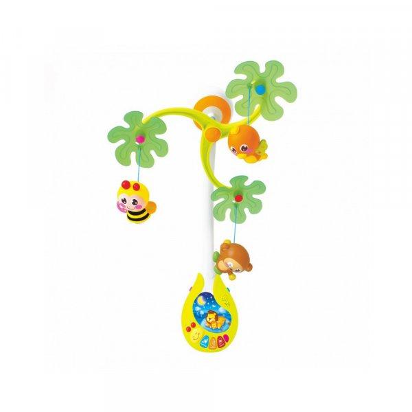 carusel muzical cu lampa de veghe hola toys 3