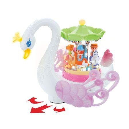 carusel muzical pentru copii lebada 1