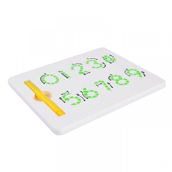 joc creativ tablita cu magnet cifre 1