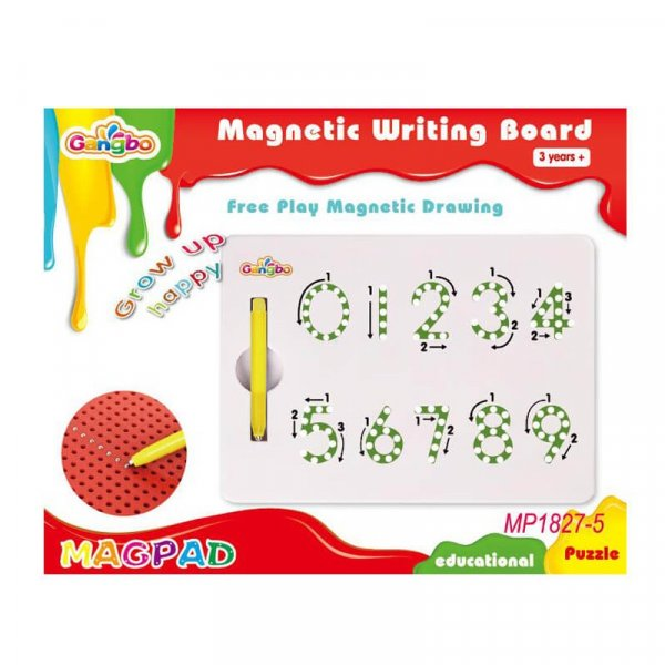 joc creativ tablita cu magnet cifre 4