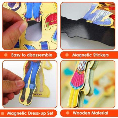 joc interactiv magnetic imbraca fetele 3