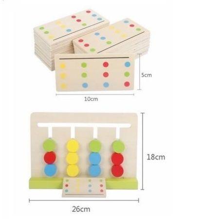 joc montessori de sortare dupa model 3