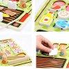 joc montessori gratar cu frigarui din lemn 3
