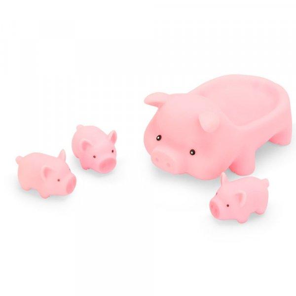 jucarie de baie porcusor cu 3 purcelusi 1