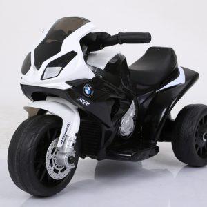 motocicleta electrica bmw negru