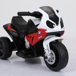 motocicleta electrica bmw rosu