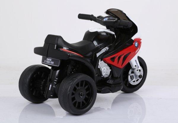 motocicleta electrica bmw rosu 3