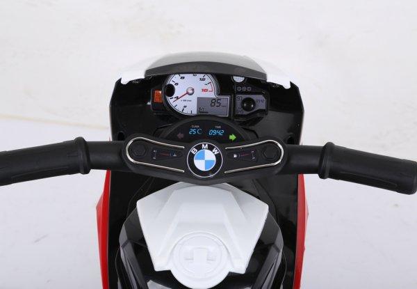 motocicleta electrica bmw rosu 4