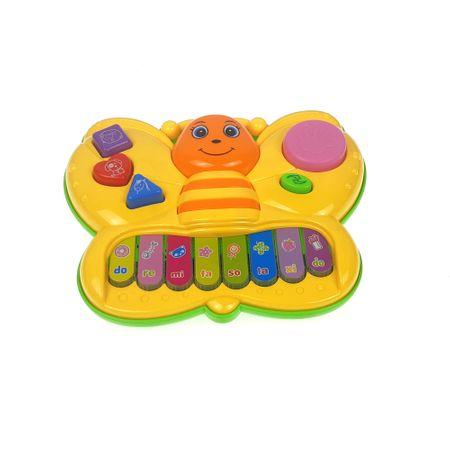 pianina fluturas de jucarie pentru copii 2